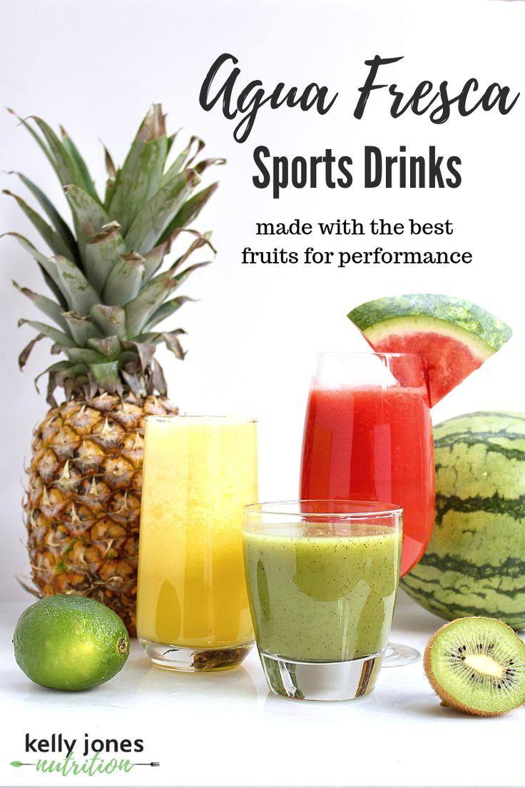 Agua Fresca Sports Drinks Sports drink recipe, Nutrition