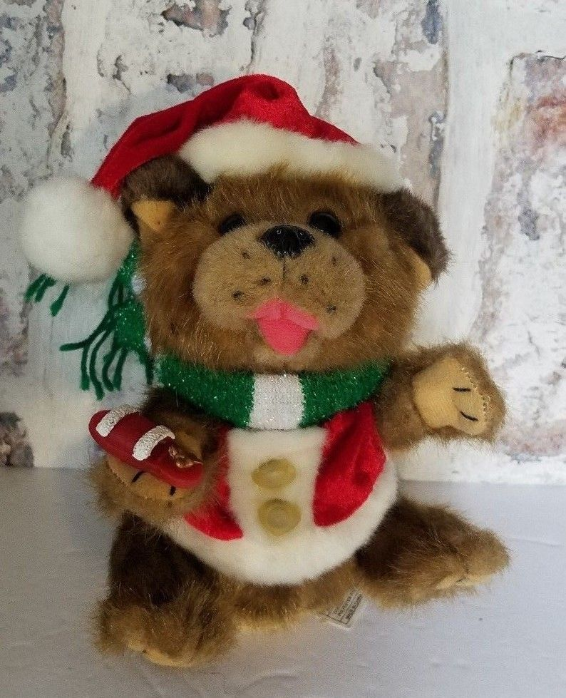 Festive Productions Animated Christmas Plush Animal Christmas Decorations