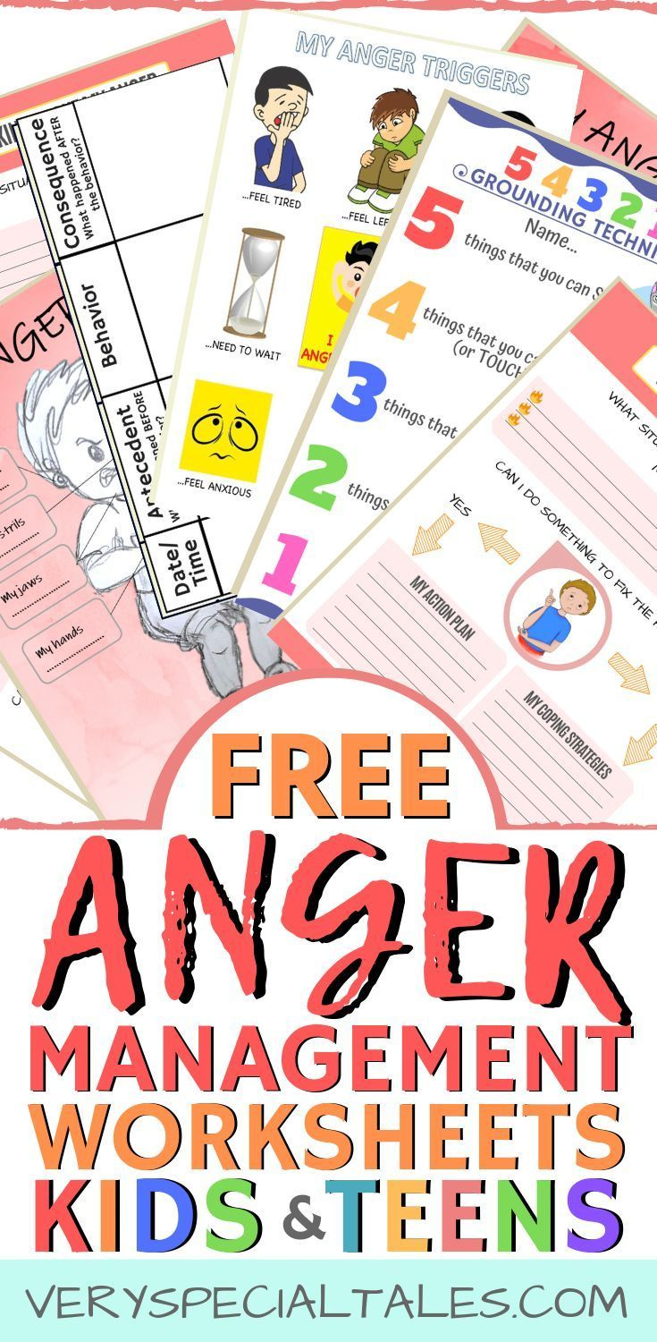 Photo of Anger Management Worksheets for Kids & Teens – Very Special Tales