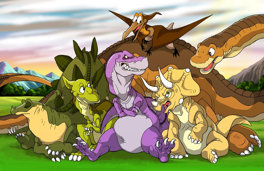 Land Before Time All Grown Up by Zerochan923600 on @DeviantArt  Huh