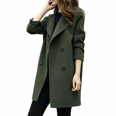 bbb1fcf728d7b Overdose Chaqueta De Invierno para Mujer Casual Outwear Parka Cardigan Slim  Coat Overcoat Invierno Abrigo