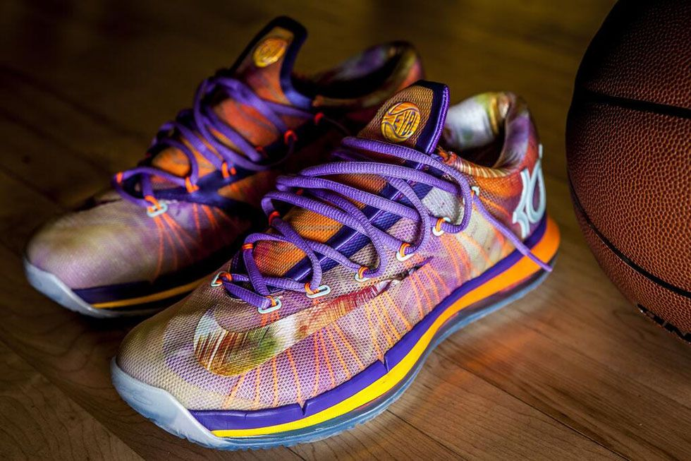 Nike Elite Youth Basketball unveiled their own exclusive edition of the KD 6  Elite today. 57e18aa266c7