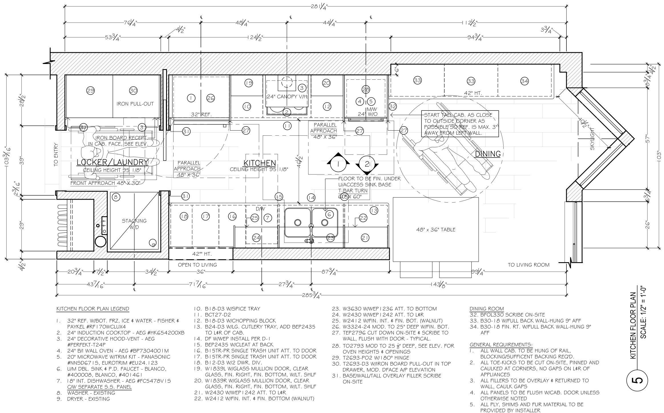 Corey Klassen Interior Design Kitchen Floor Plan Example