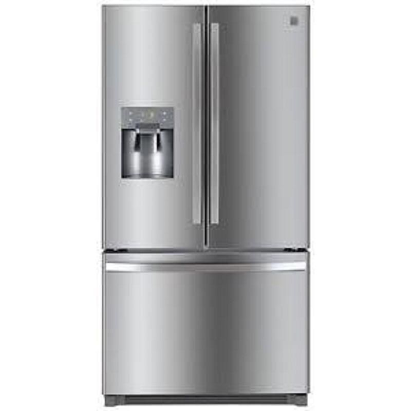 Kenmore - 111.61202 - 21 CuFt White Top Mount Refrigerator OPP ...