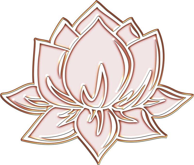 Lotus Flower Symbol Wisdom Enlightenment Buddhism Zen Sticker By