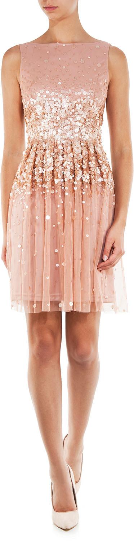 Young Couture By Barbara Schwarzer Kleid Mit Pailletten Pailletten Kleid Kleider Young Couture