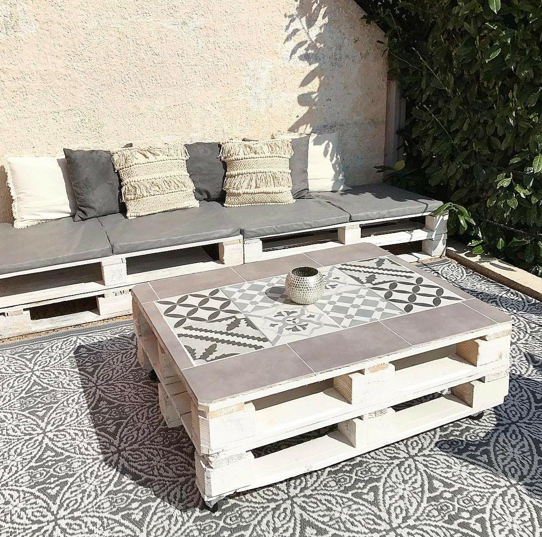 Photo instagram : sarryad  Meubles en bois de palettes, Meuble