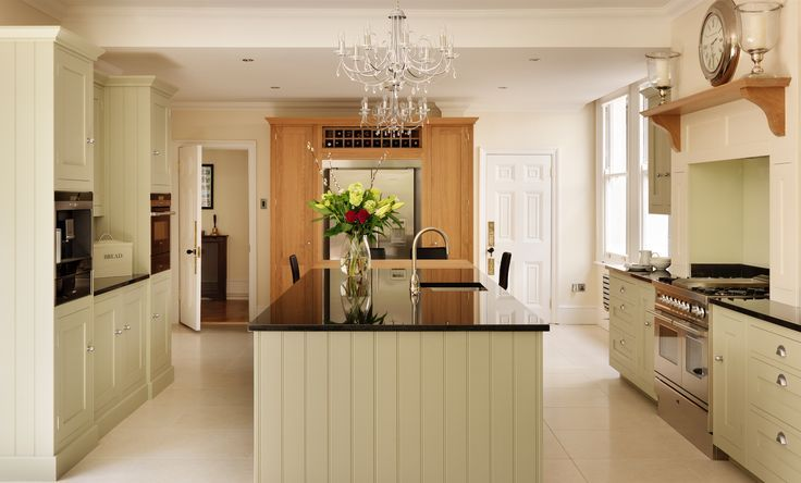 Best Harvey Jones Shaker Kitchen Painted In Farrow Ball 400 x 300