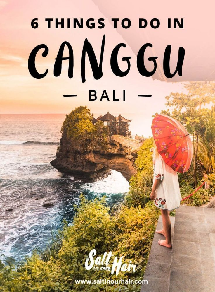 Canggu is a new digital nomad hotspot on the island of Bali, and a popular travel destination too. Here are some of the top things to do in Canggu, Bali. #Canggu #Bali