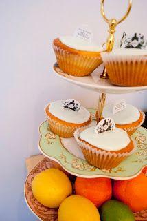 Foody Faces: Hendricks Gin Cupcakes