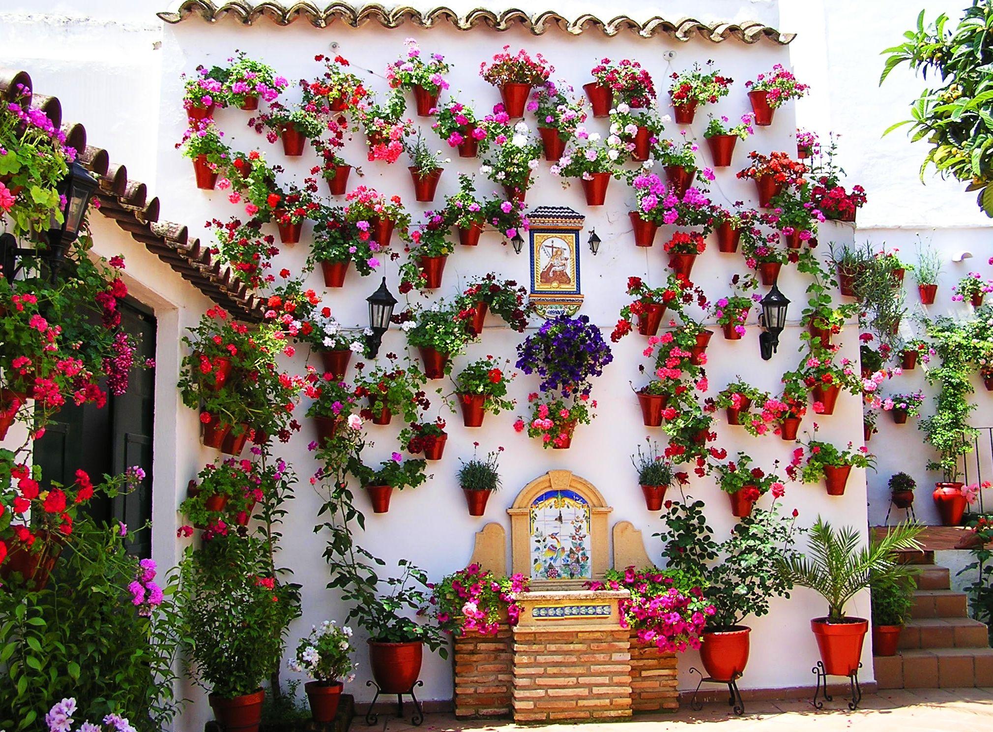 De los patios cordobeses a los jardines verticales | Meollo ...