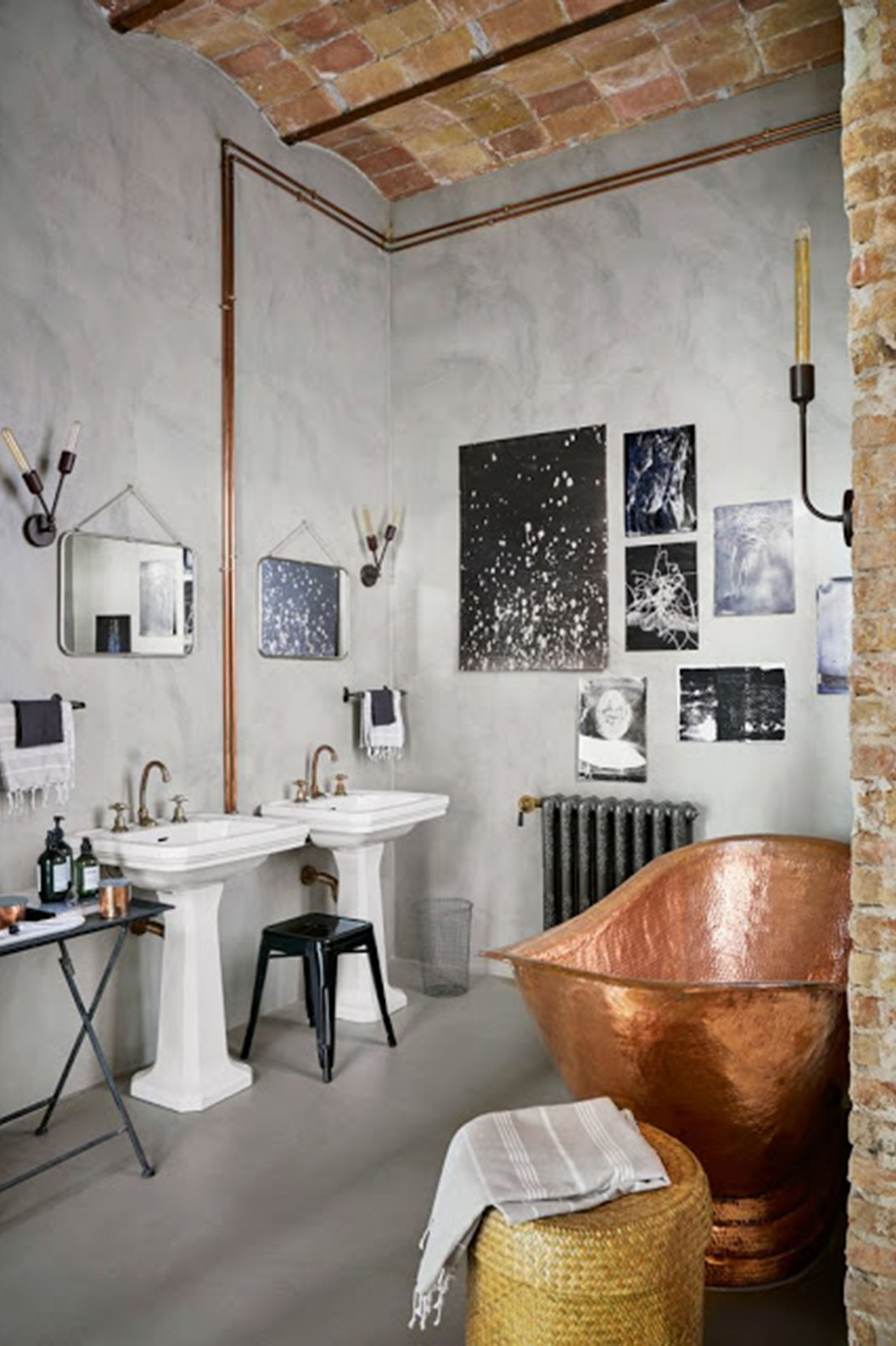 Industrial Design Bathroom