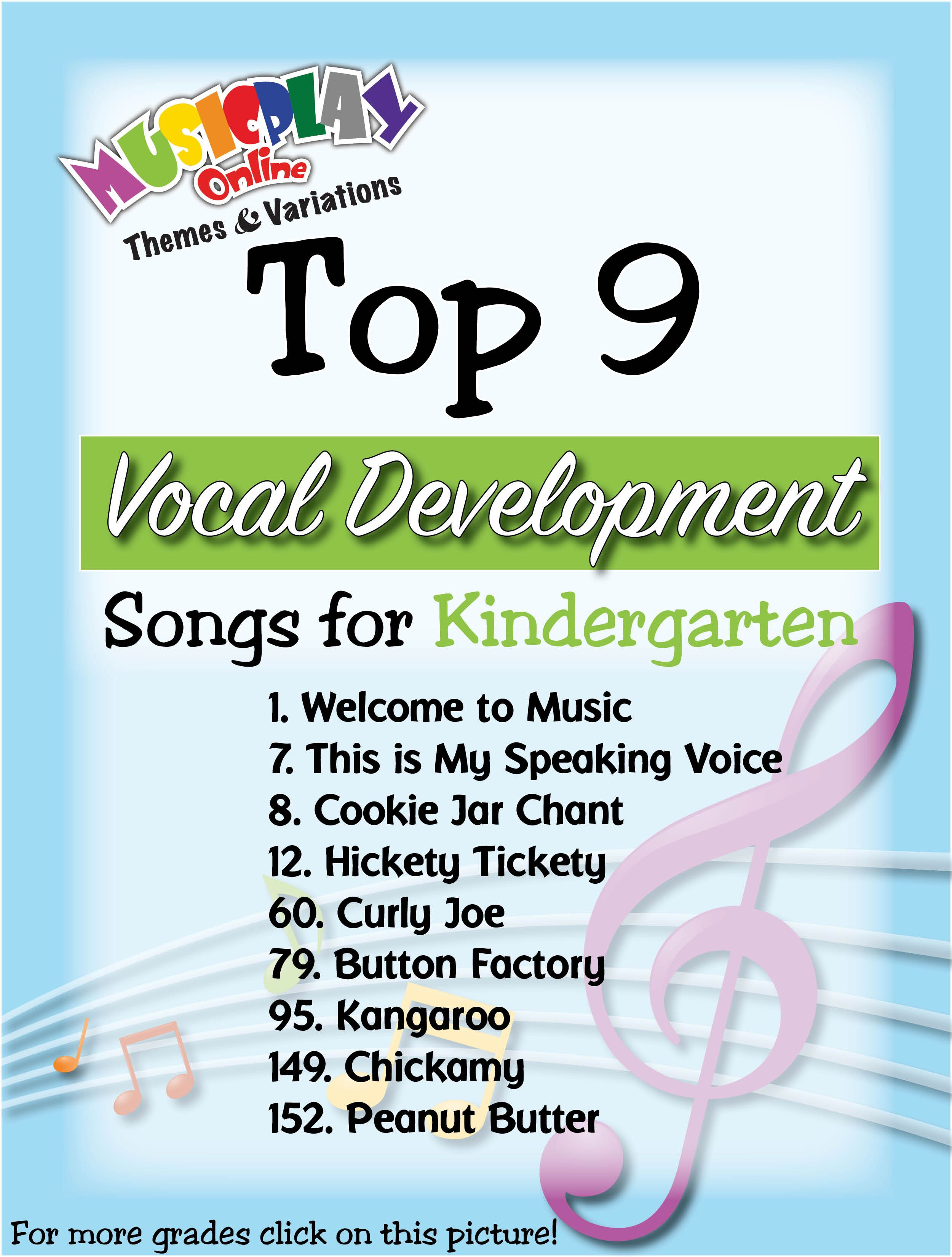 Vocal Development in Musicplay   list of songs   Welcome