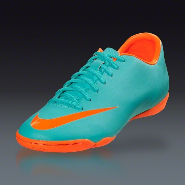 Nike Mercurial Victory III IC - Retro Total Orange Indoor Soccer Shoes  6afc468a3a
