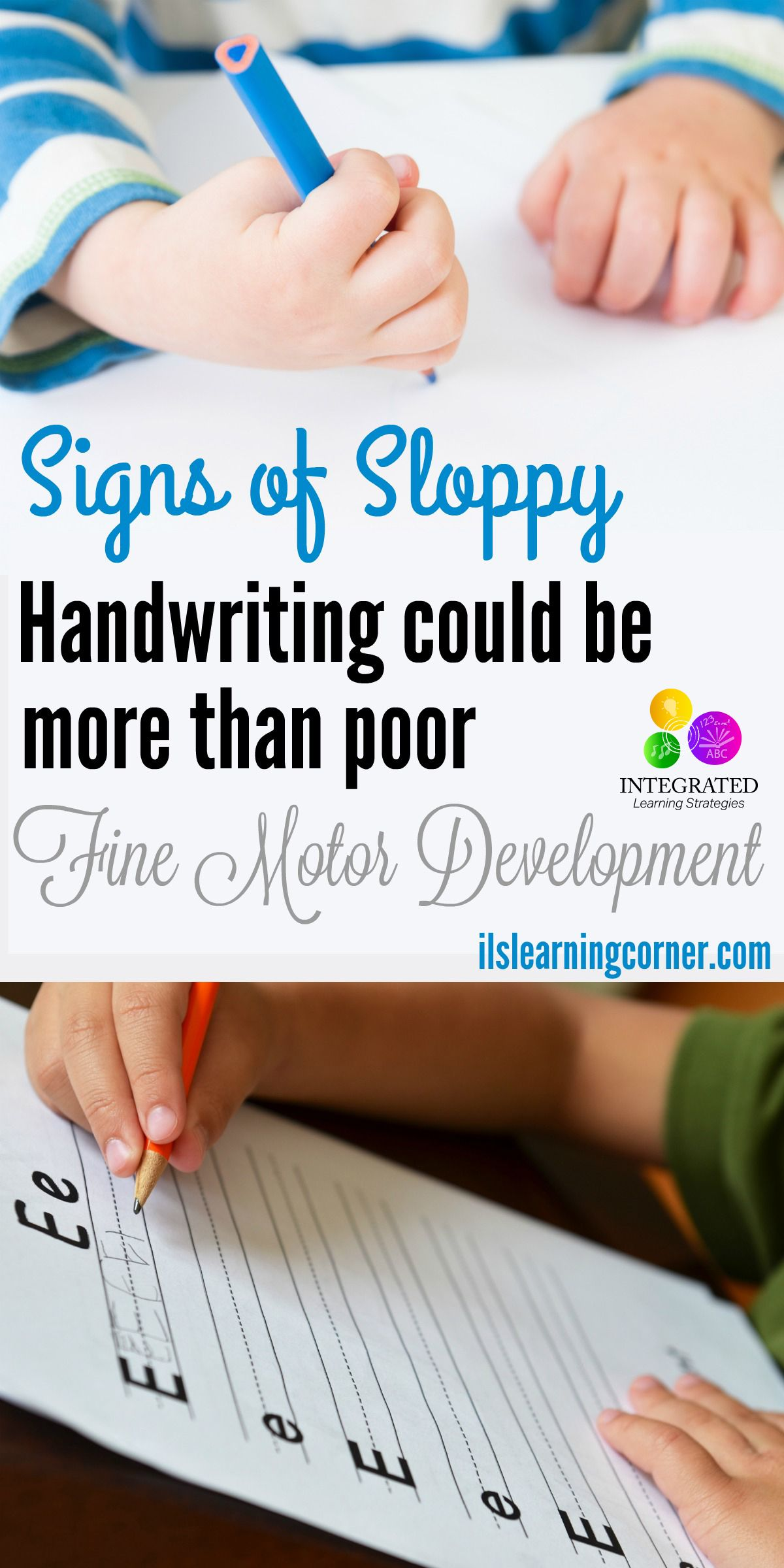 Dysgraphia Signs Of Sloppy Handwriting Could Mean More Than Poor Fine Motor Development