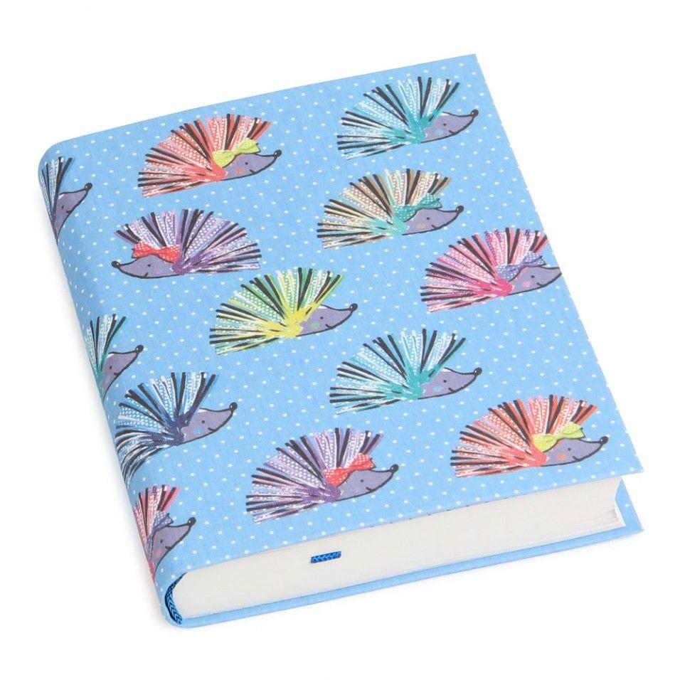 A6+ Hedgehogs Flexi Linen Ruled Notebook