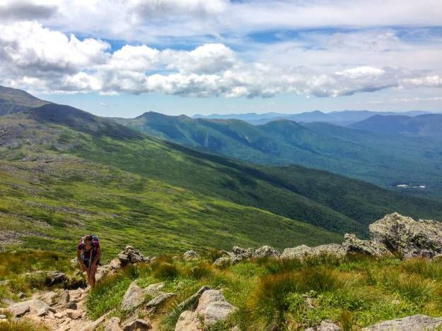 Hiking Mt. Jefferson, New Hampshire #newhampshire #hiking #mountains #whitemountains #hiker