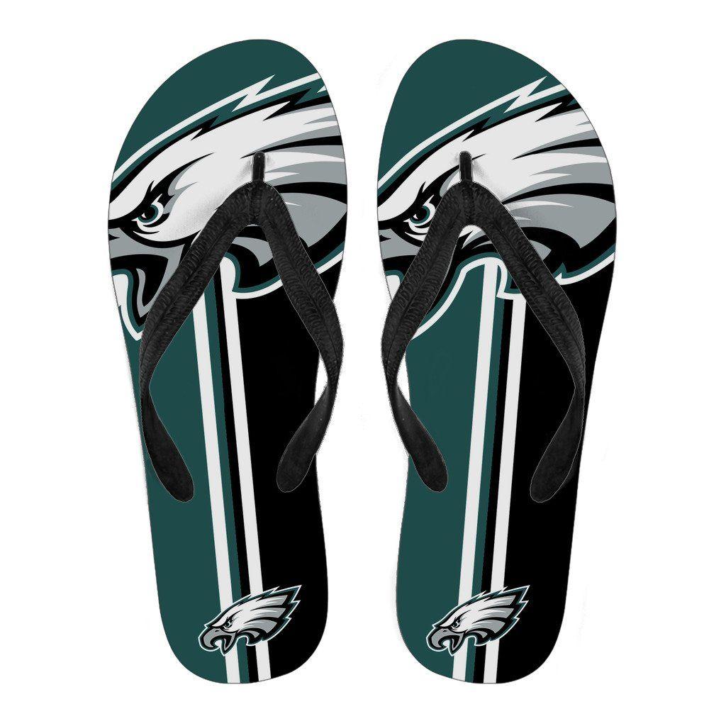 Philadelphia Eagles Fan Gift Two Main Colors Flip Flops – Best Funny ... 0c7e033c5
