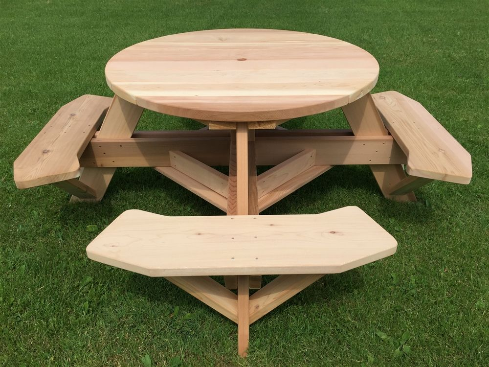 Amazing 45 Round Picnic Table With Easy Seating Octagon Picnic Forskolin Free Trial Chair Design Images Forskolin Free Trialorg