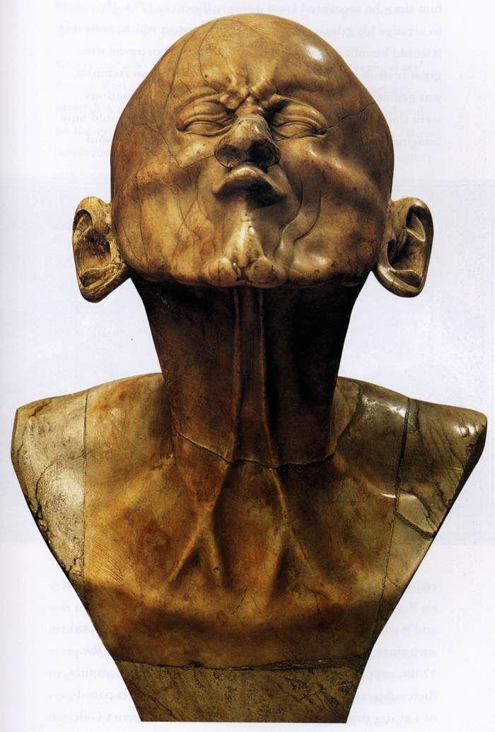 MESSERSCHMIDT, Franz Xaver Character Head: The Beaked 1770 Alabaster, height 43 cm Österreichische Galerie Belvedere, Vienna