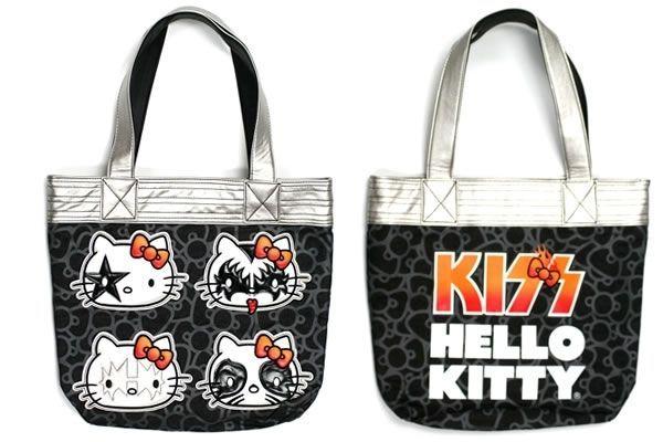 Hello Kitty KISS Tote Bag - Neatorama 99d4a32381bd2