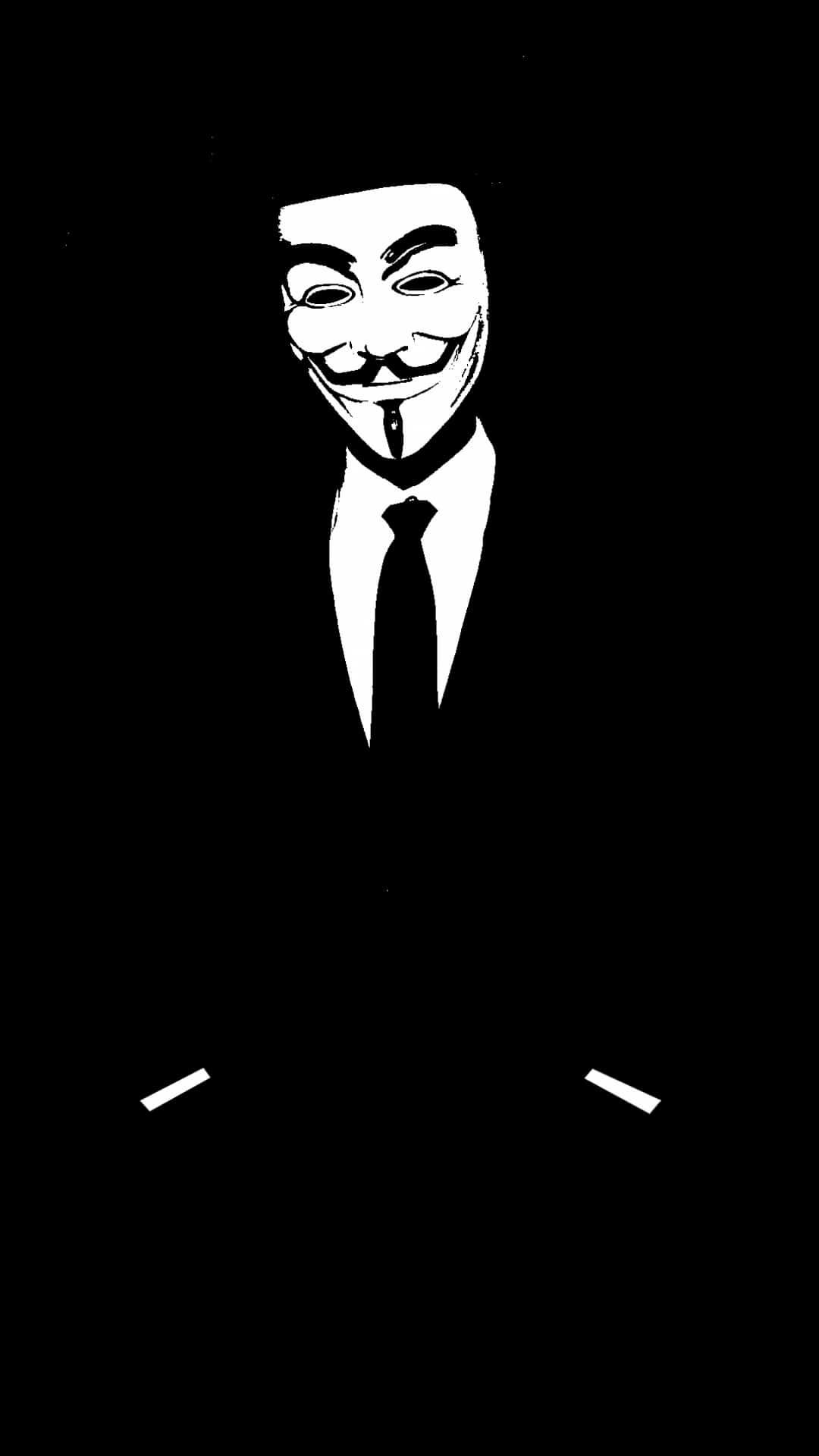 Mobworg 15811 Anonymous Mask Wallpaper