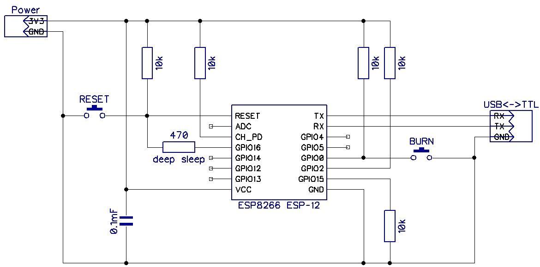 Схема master module w