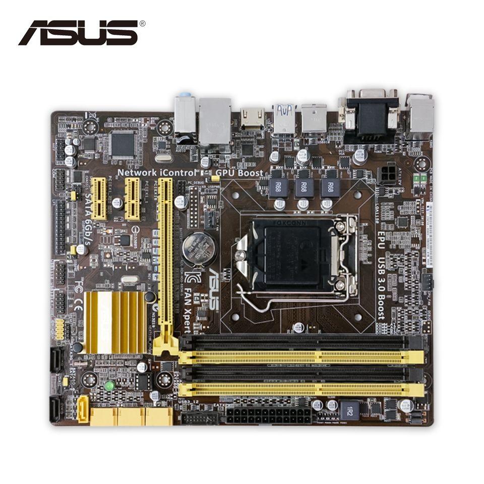 For B85m G Original Used Desktop Motherboard Intel B85 Socket Fan Lga 1155 1150 I3