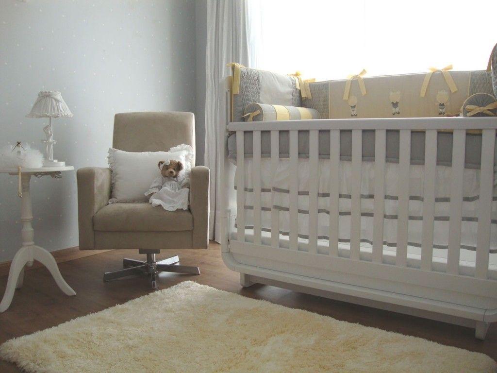 Cinza No Quarto Do Beb Lumin Ria Cl Ssica Enxoval Moderno E  ~ Decoração De Quarto De Bebe Neutro