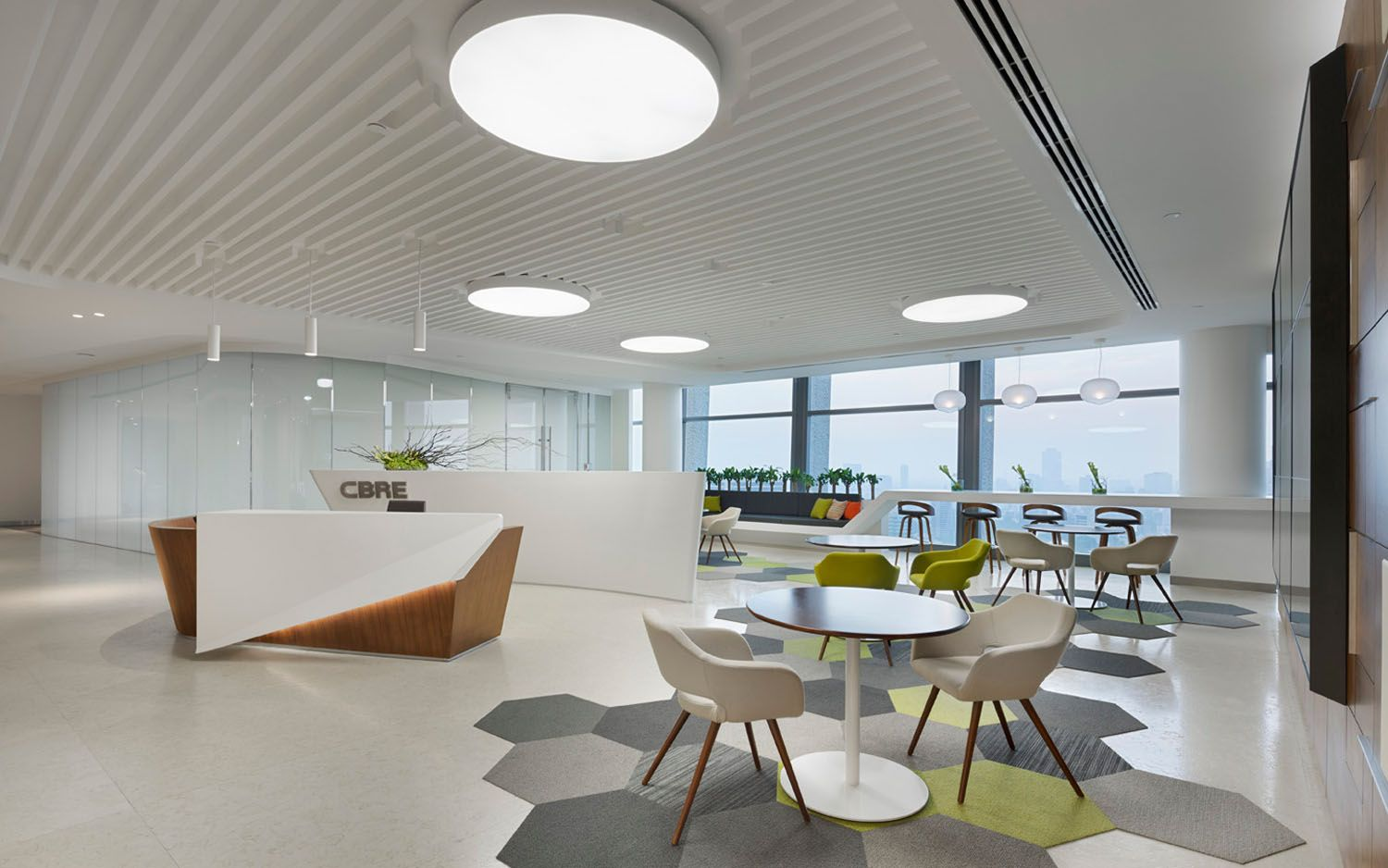 Cbre Corporate Offices Office Interior Design Corporate Office Office Design