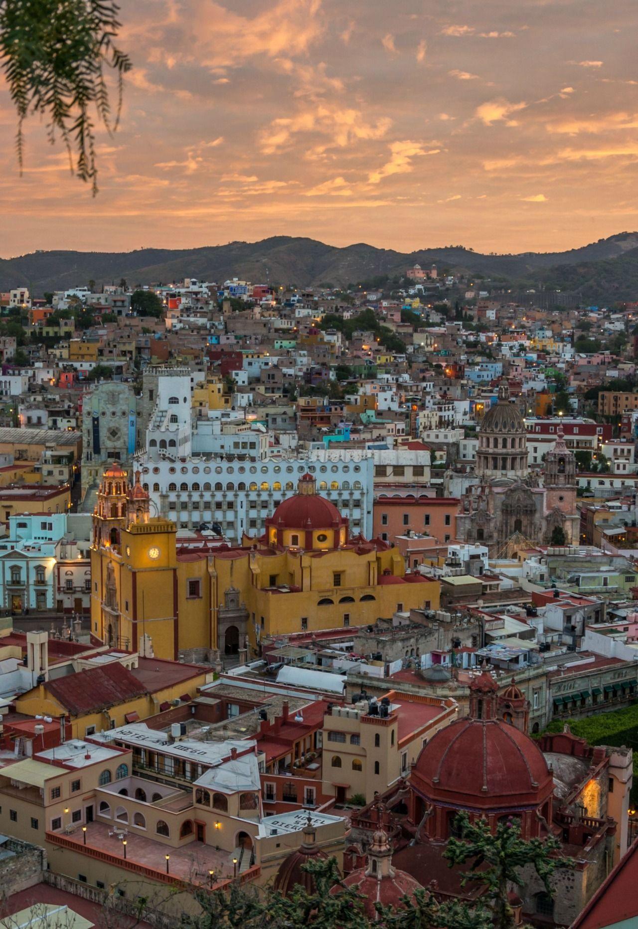 guanajuato mexico @ sunrise | Tumblr | Dream Vacations in ...