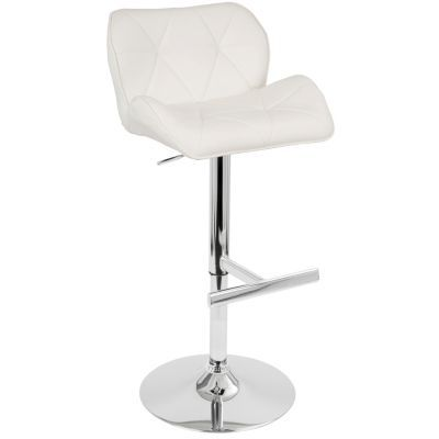 Swell Lumisource Jubilee Adjustable Barstool With Swivel In Faux Ibusinesslaw Wood Chair Design Ideas Ibusinesslaworg