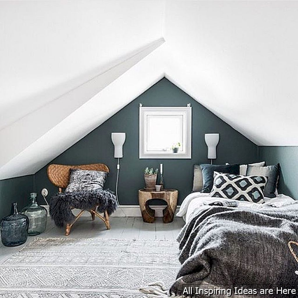 Awesome Small Loft Bedroom Ideas 0022 Lovelyving Com Small