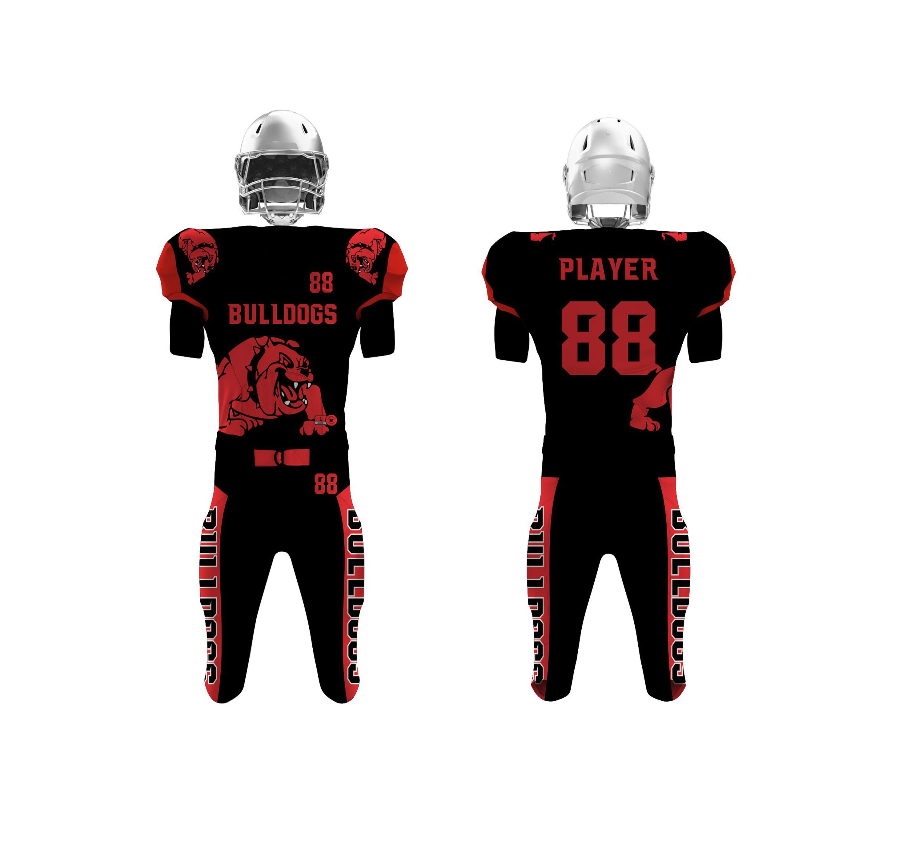 American Football Uniforms Sports Garments Team Wear Team Apparel