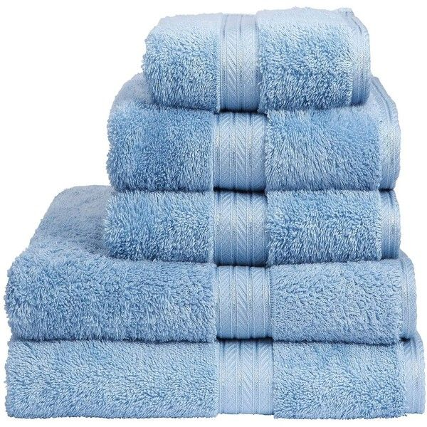 Christy Renaissance III towels in soft chambray. Still made using the highest quality Egyptian Cotton, which provides excellent absorbency, durability and wonde...