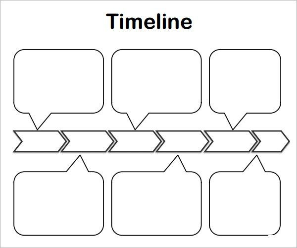Project Timeline Template  Timeline Templates