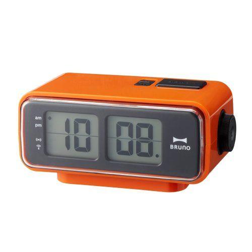 On Sale Retro Digital Flip Desk Alarm Clock Orange Is Now