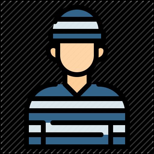 Avatar Custody Justice Law Prison Prisoner Suspect Icon Download On Iconfinder Avatar Icon Company Icon
