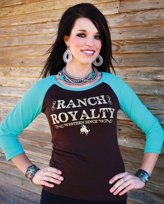 aa75ee78 Ranch Royalty Clothing® Ladies' Logo Tee :: Tee :: Shirts :: Ladies :: Fort  Western Online