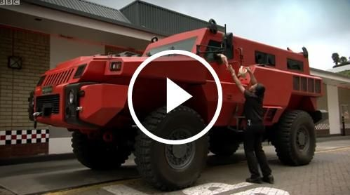 The Marauder - South Africa's Ten Ton Military Vehicle ... Richard ...