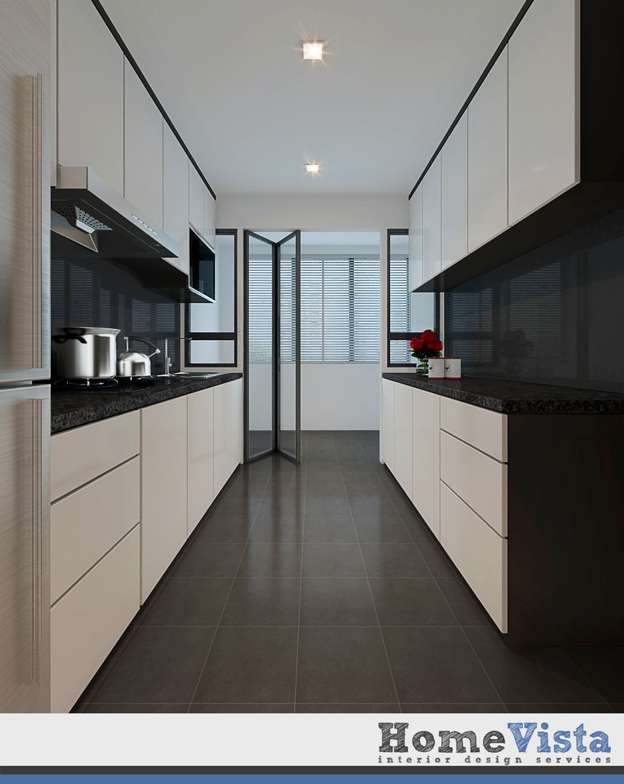 Kitchen Room Interior Design: Singapore Interior Design Kitchen Modern Classic Kitchen