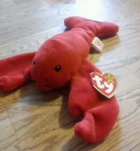 Details about Ty beanie baby old rare retired PINCHERS MWMT hard to ... a25c92d0edbe