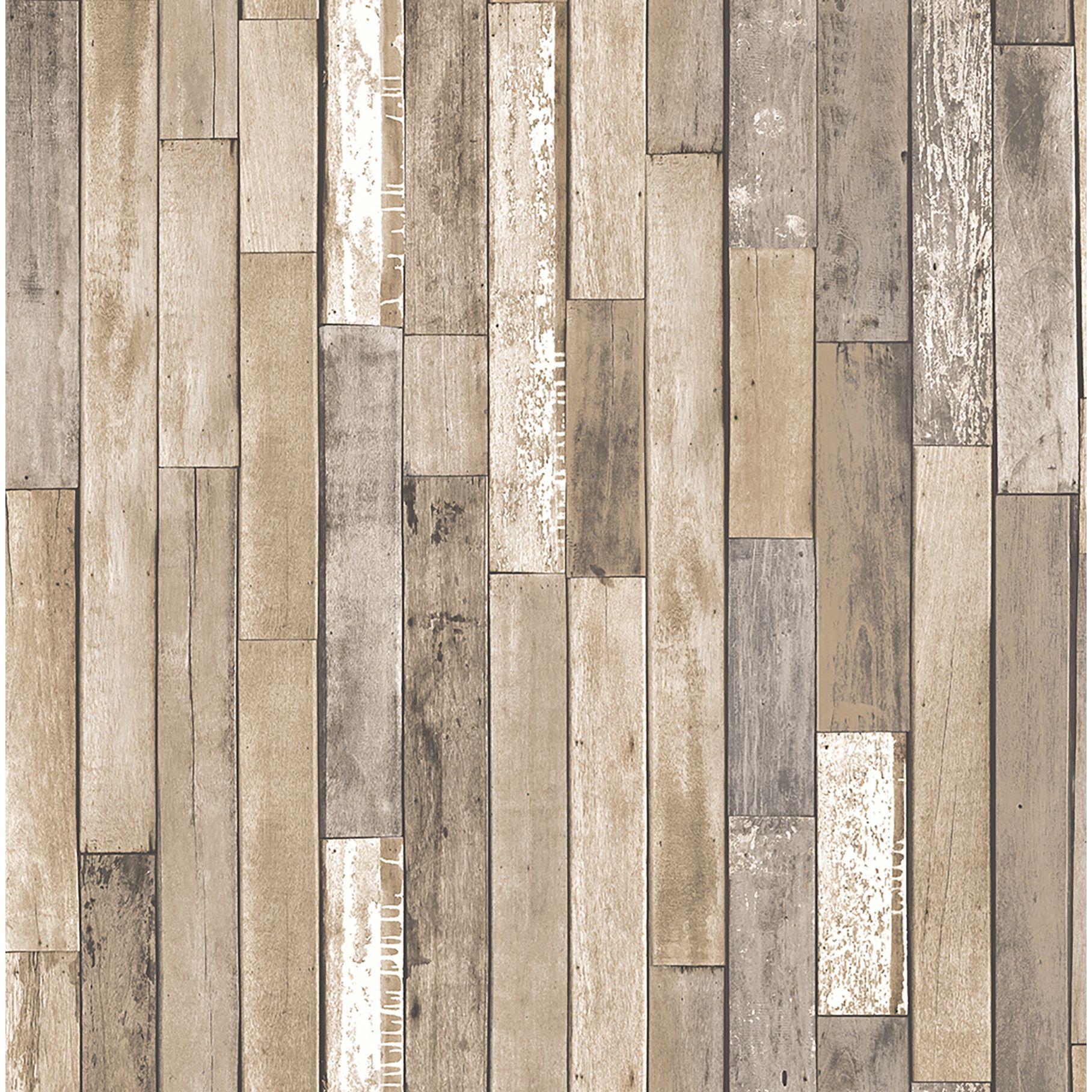 Brewster Home Fashions Essentials Barn Board Thin Plank 33 X 20 5 Wood Wallpaper Rustic Wood Wallpaper Wood Wallpaper Faux Wood Wall