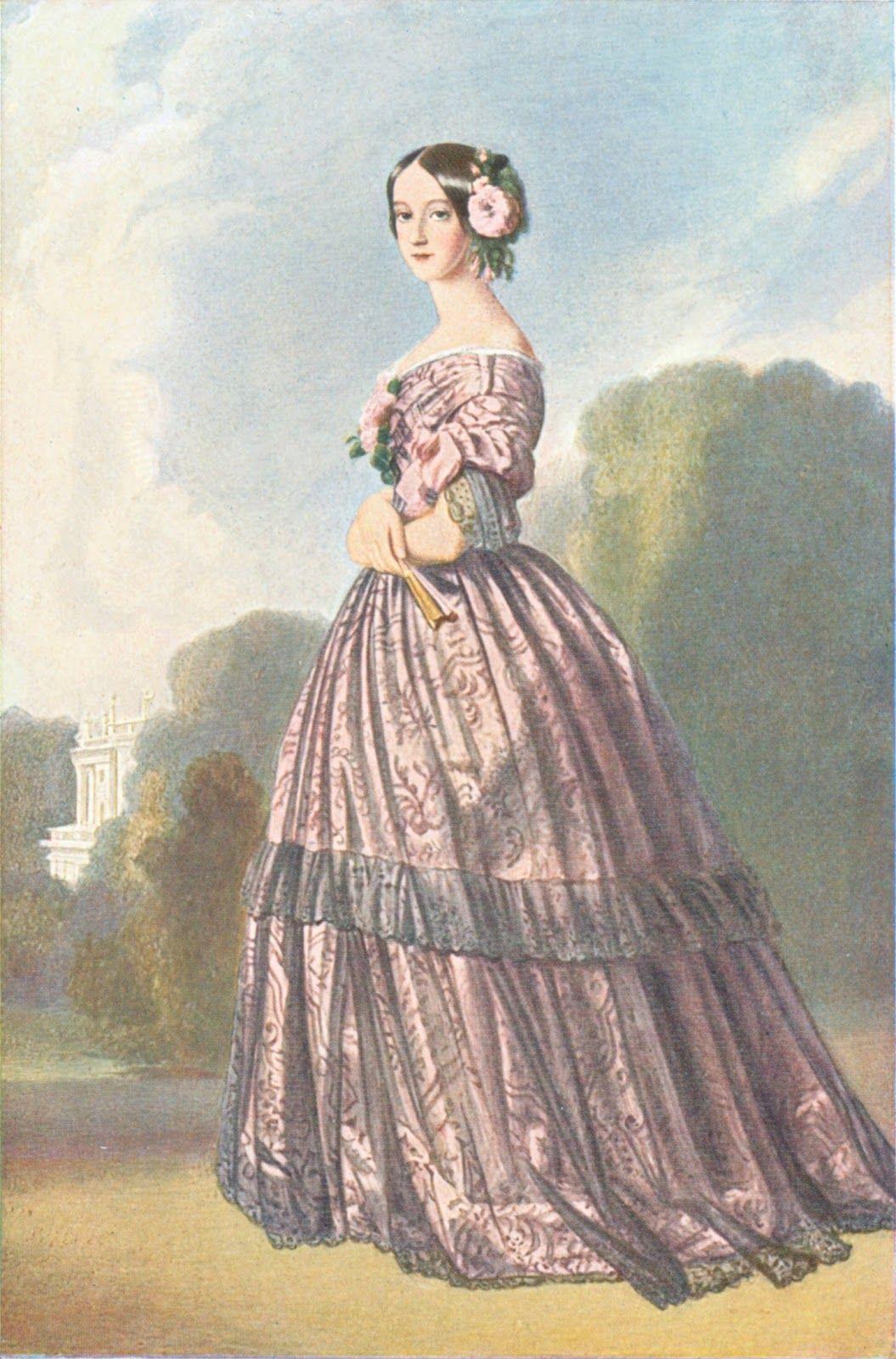 Coleção Raoni Pontes: 1848 1850 - Francisca de Bragança, Princess of Joienville, nee Princess of Brasil