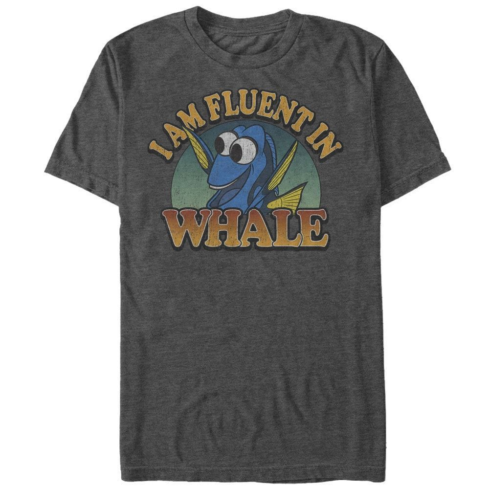 Finding Dory - Fluent Whale Adult Regular Fit T-Shirt