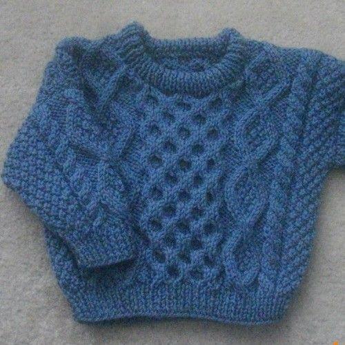 Bruadair baby toddler aran knitting pattern PDF | Ropa para niños ...