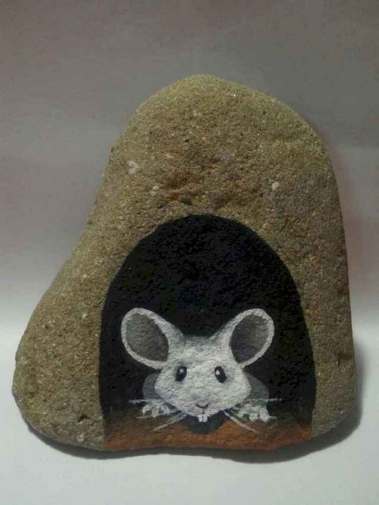 55+ Creative and Cute Rock Painting Ideas is part of Rock art, Rock crafts, Painted rocks, Pebble art, Paint rock, Rock painting art - Rock art is a pleasure and easy technique to spend a while crafting  All of it requires is paint, just a few rocks and your creativity  Moreover, rock painted might also be utilized to decorate your backyard  The painted Rock present a unique accent into the imaginative garden format ) Painted giant and small rocks …