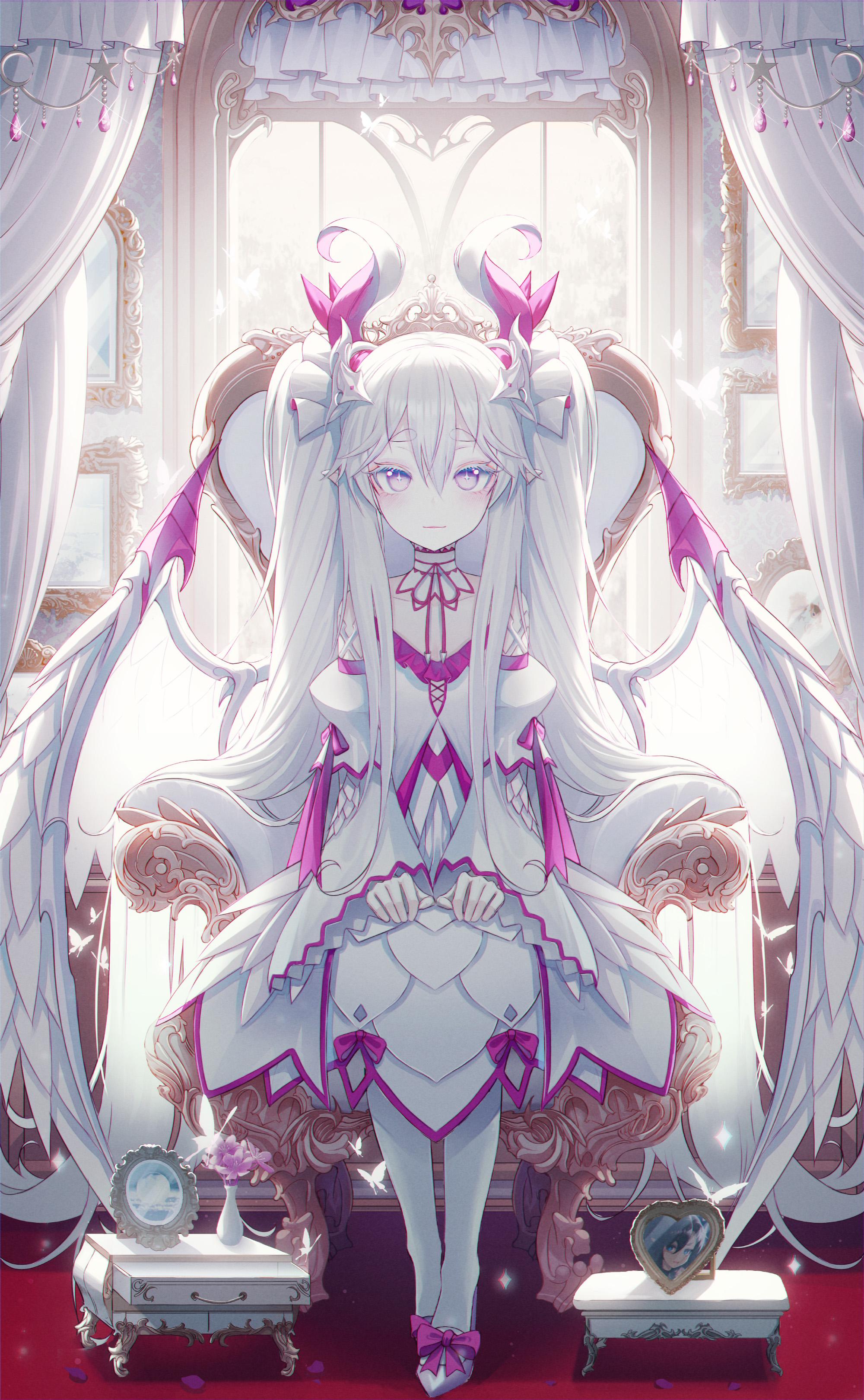 Dragon Queen Original Ilustrasi Ilustrasi Karakter Seni Anime