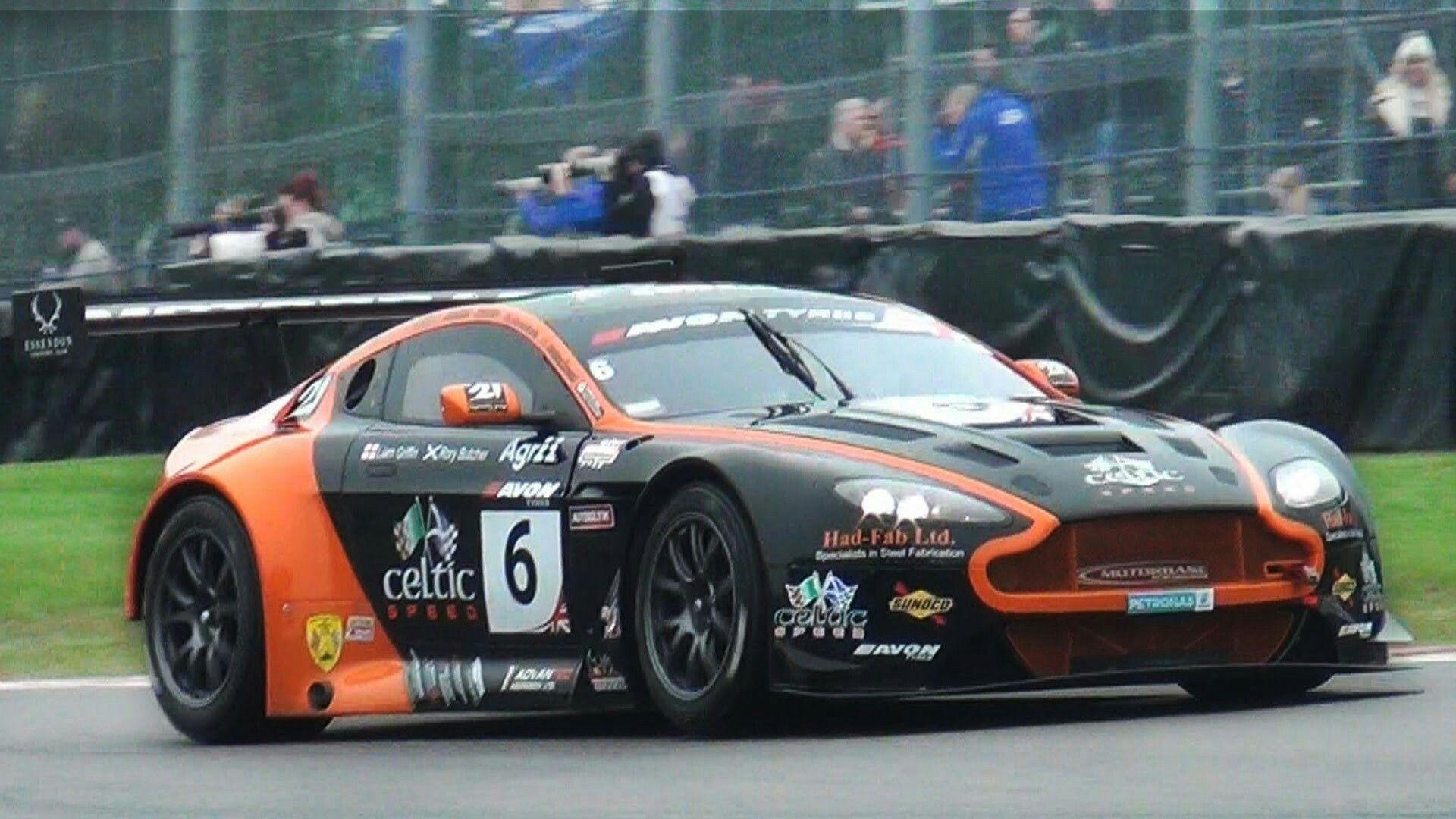 Aston Martin V12 Vantage Gt3 Lovely Sound On Track Youtube