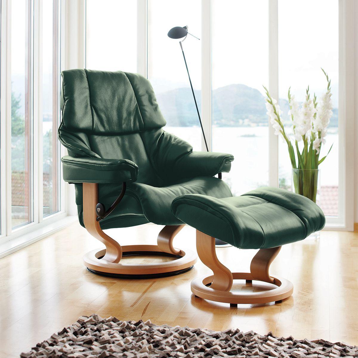 Stressless Reno | Stressless furniture, Stressless chair